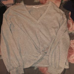 Lush Sweater/Top with a knot